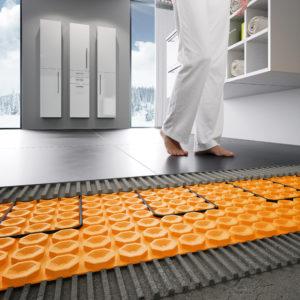 schlüter Ditra Heat, de elektrische vloerverwarming. Te koop bij Top Tegel 04 in Geluveld.