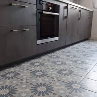 keukentegels revoir paris syrah bleu